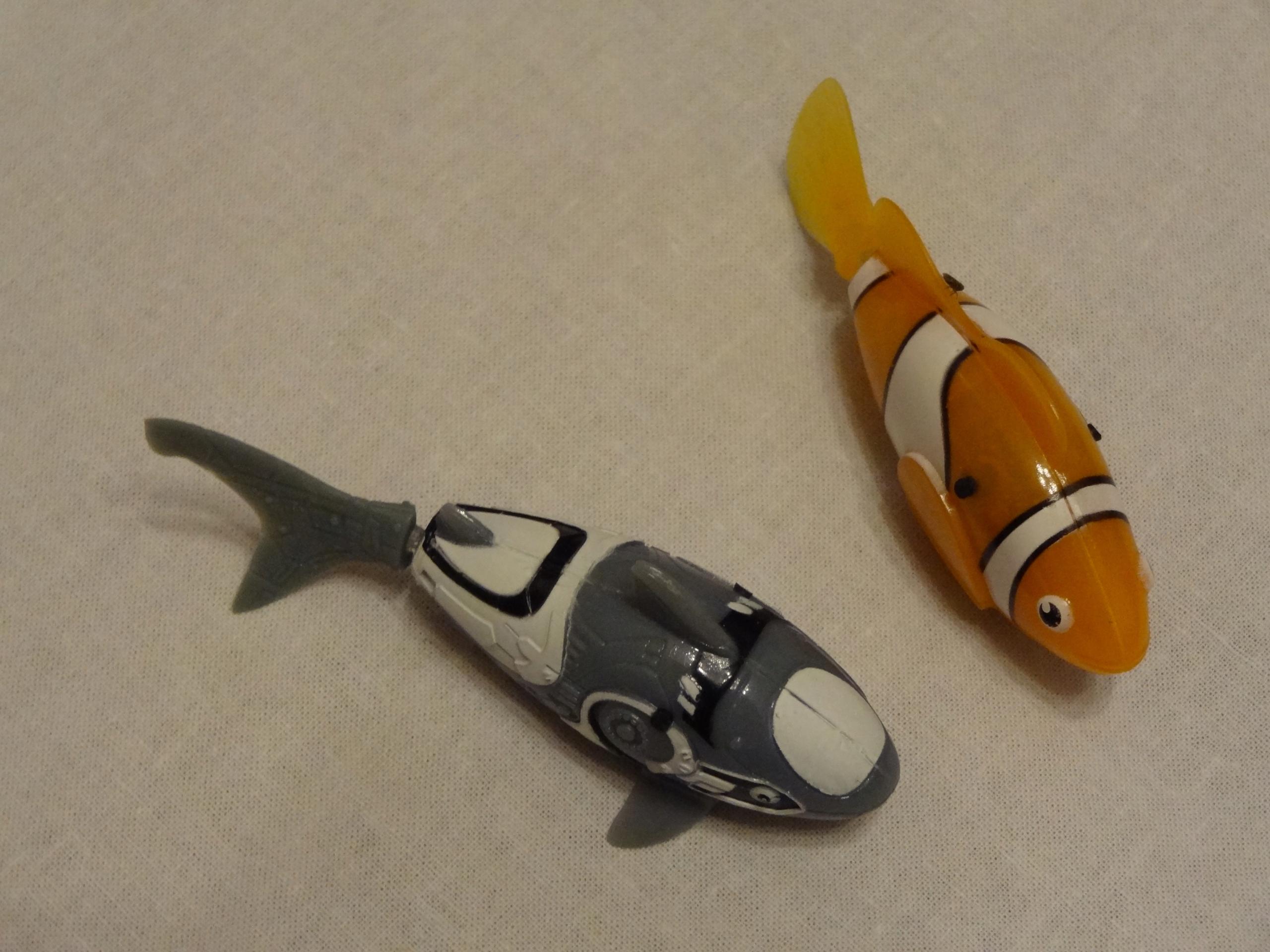 Nano Fish Plywająca Rybka 7604021323 Oficjalne Archiwum Allegro