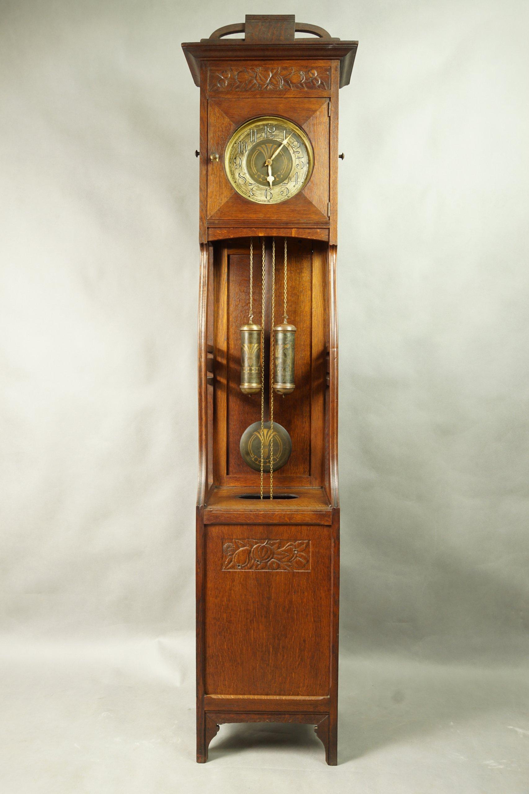 Secesyjny Zegar Stojący 7218505835 Oficjalne Archiwum