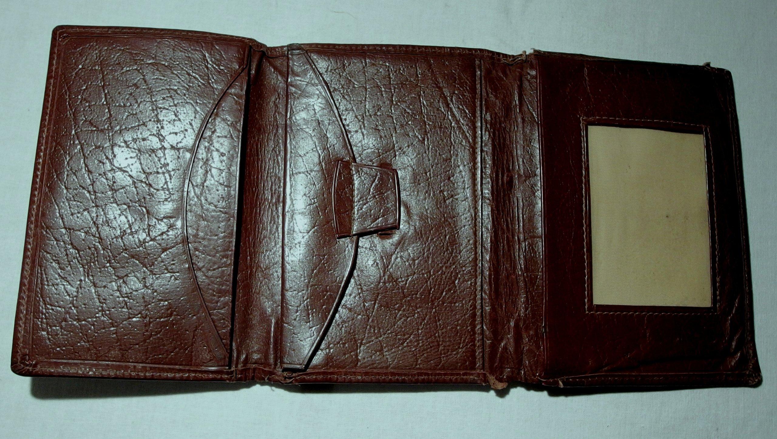 9d0fa0589d2e3 stary męski portfel - 7154827296 - oficjalne archiwum allegro