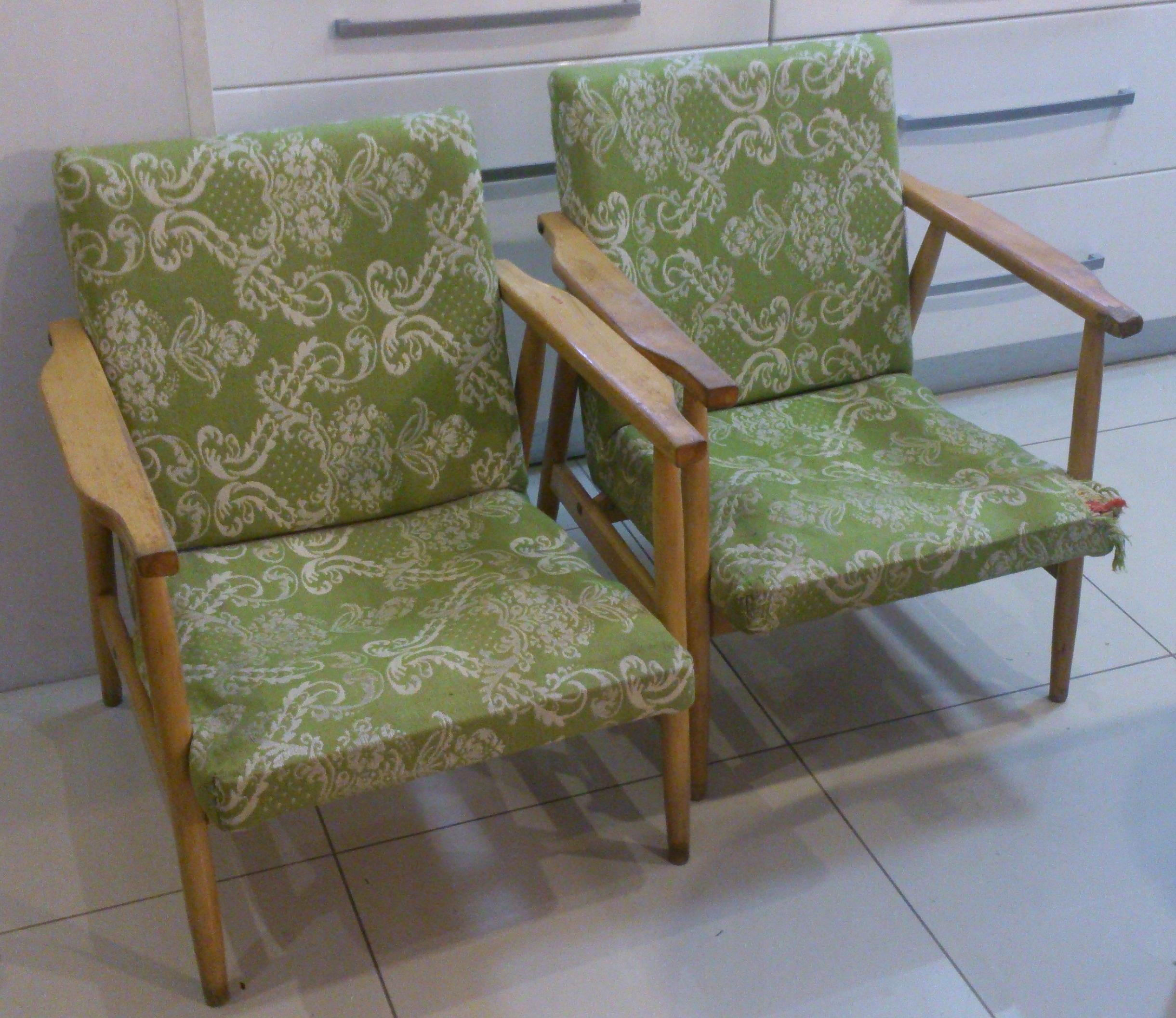 Fotele Oldschool Jak Z Dorota Was Urządzi 2 Szt 7691187293