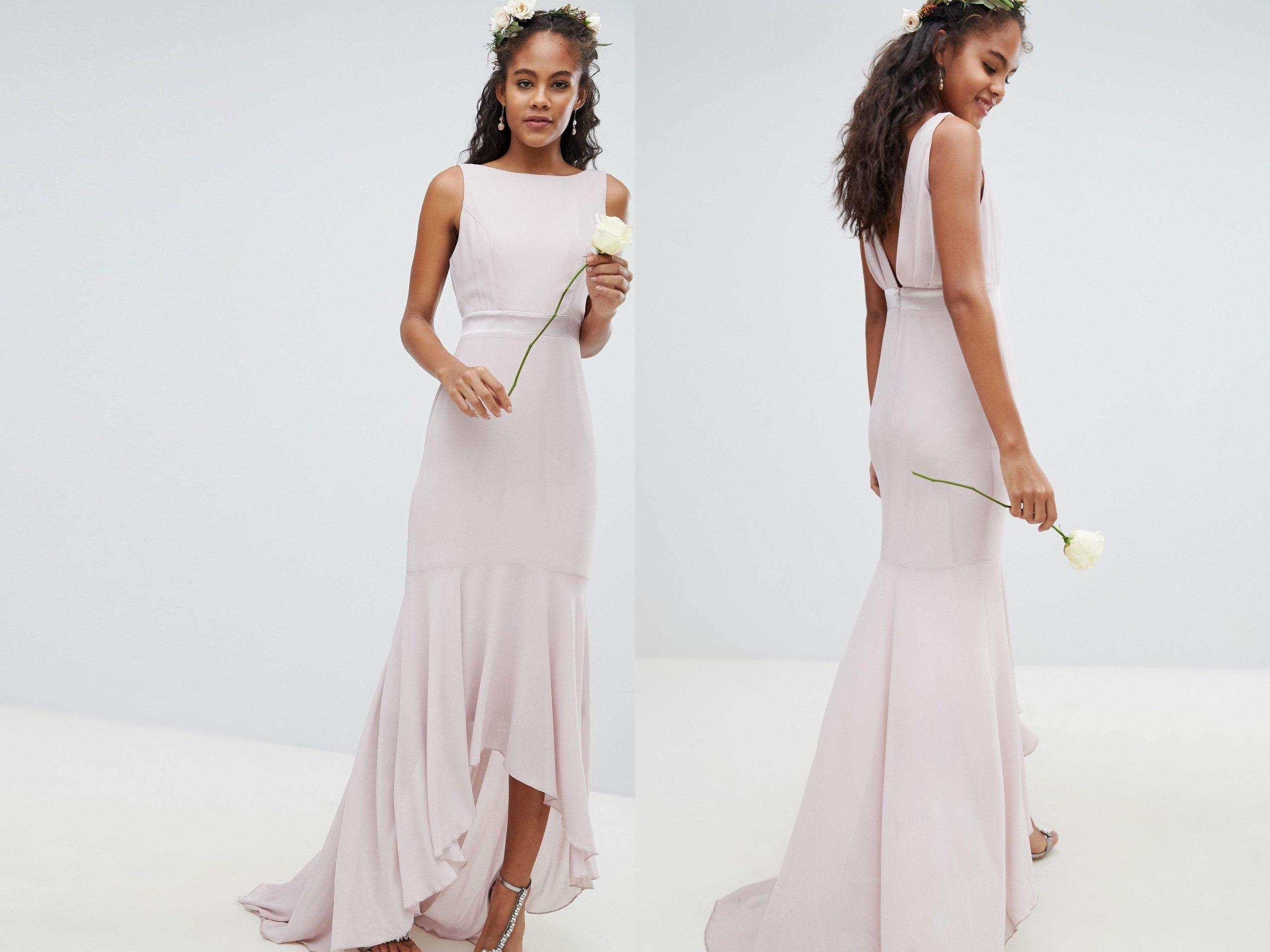 8e365cf13a Fioletowa asymetryzna sukienka S 36 - 7284189620 - oficjalne ...