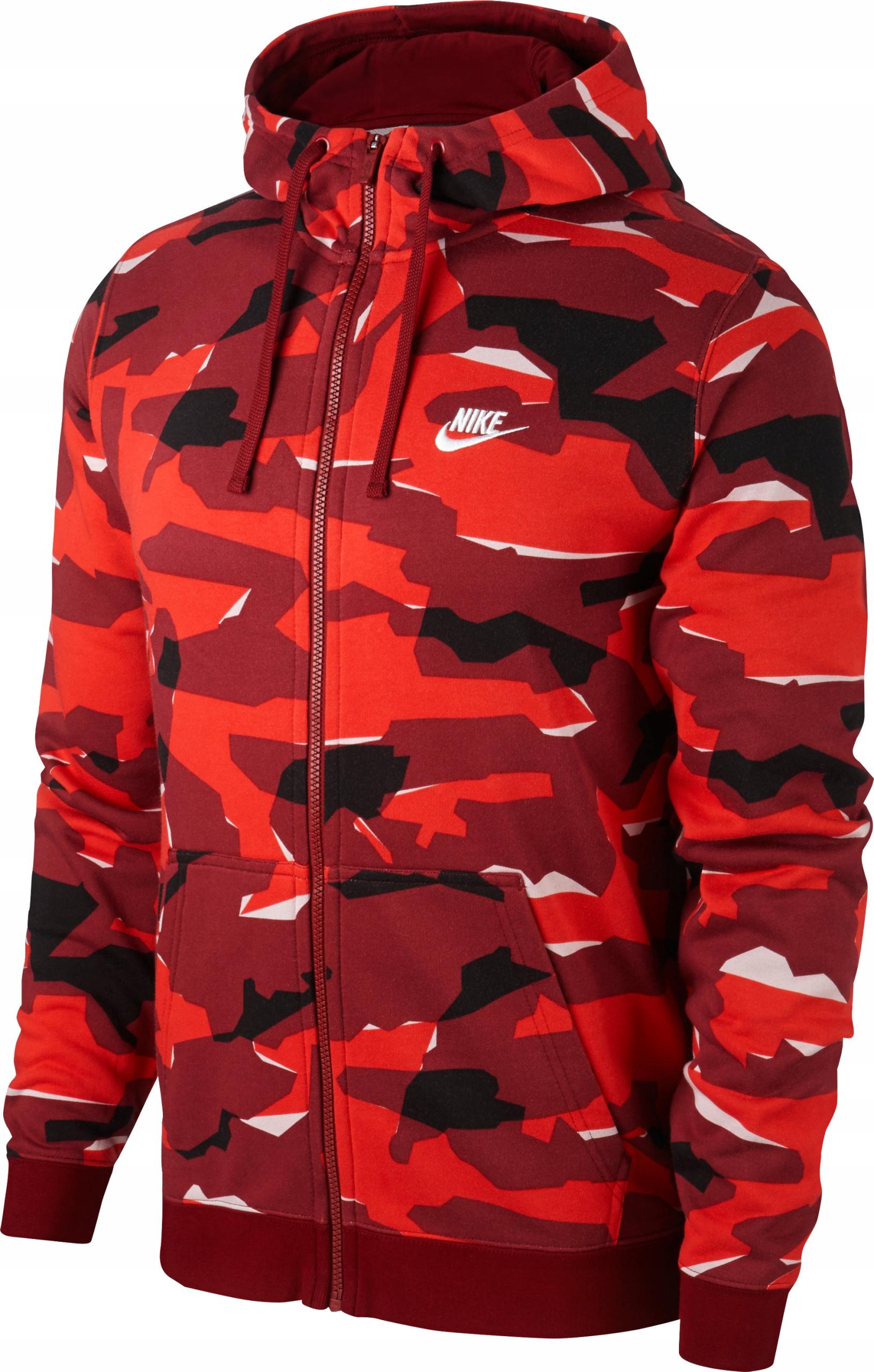 w sprzedaży hurtowej cała kolekcja buty skate Bluza Nike SW CLUB CAMO HOODIE AQ0596-677 r.S - 7582577405 ...