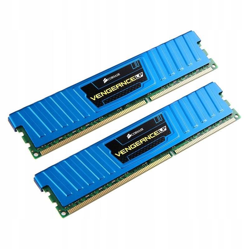 Corsair Vengeance LP Blue DDR3-1600 CL10 - 16GB Sk