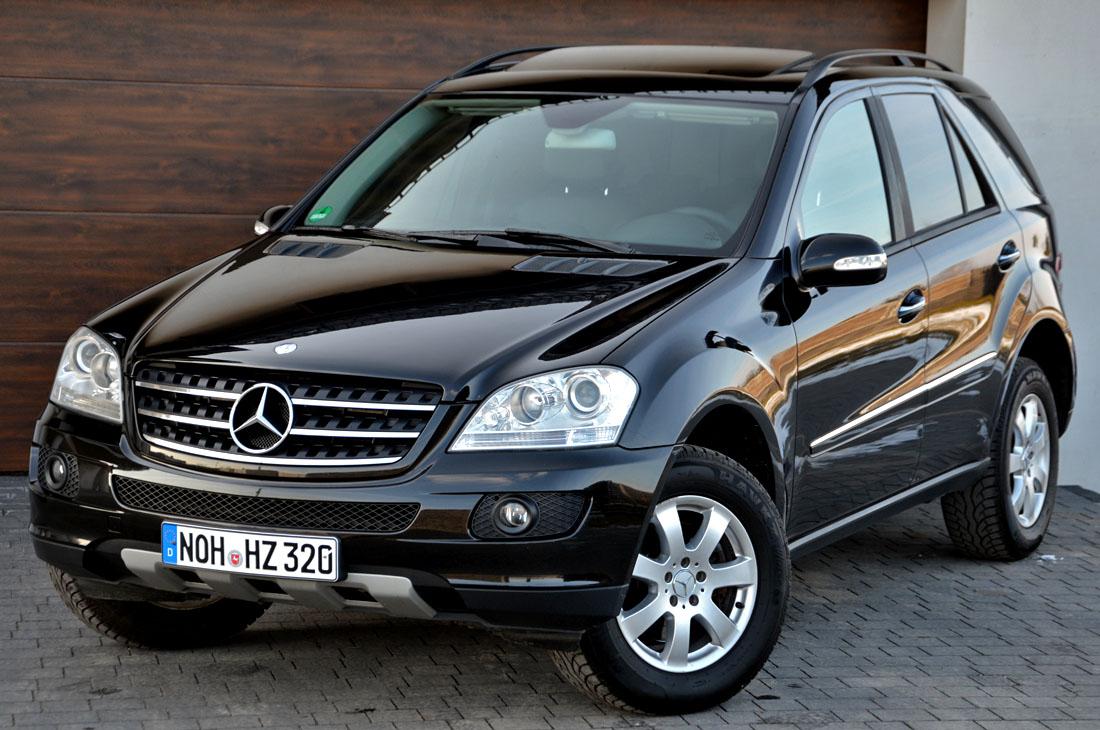 Mercedes Ml 320 Cdi Piekna Wersja Bez Pneumatyki 7379547238