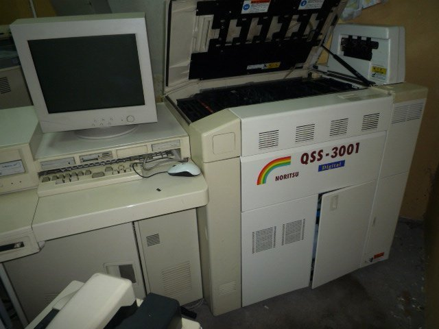 Minilab Noritsu QSS 3001, ze skanerem, kasety