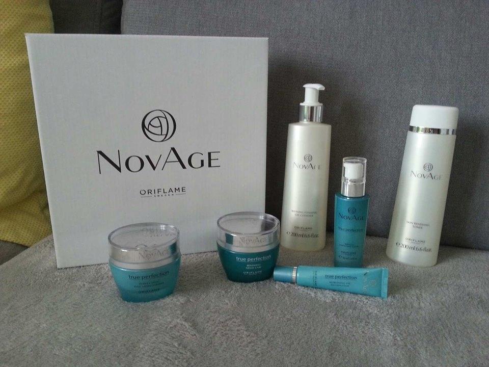 Zestaw kosmetyków TRUE PERFECTION NovAge ORIFLAME