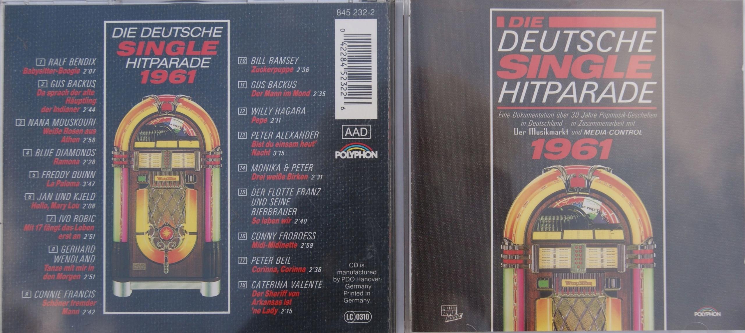 Die deutsche single hitparade 1965