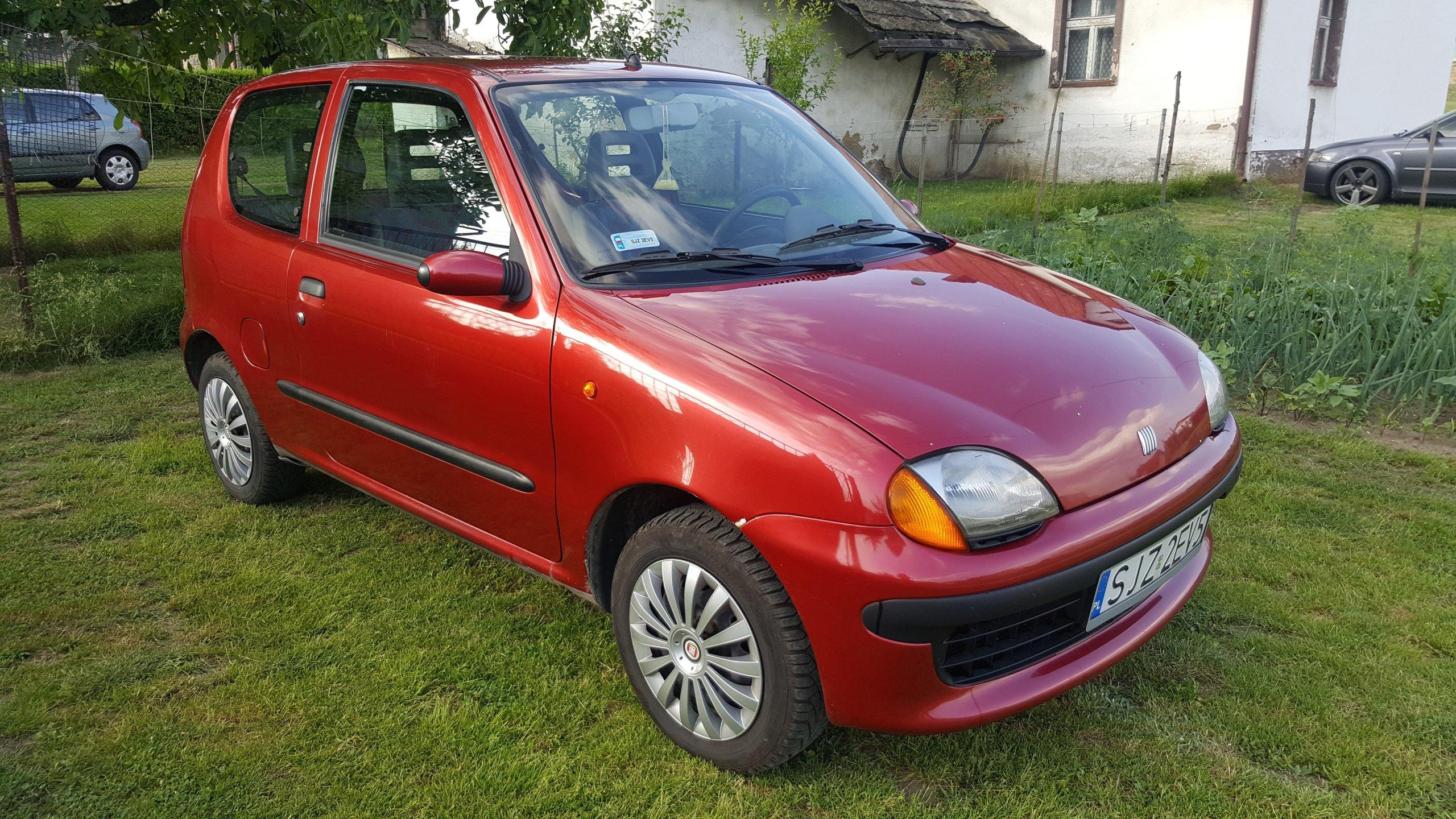 Rewelacyjny Fiat Seicento 900 Elektryczne Szyby Nowe Opony - 7386298210 PV05