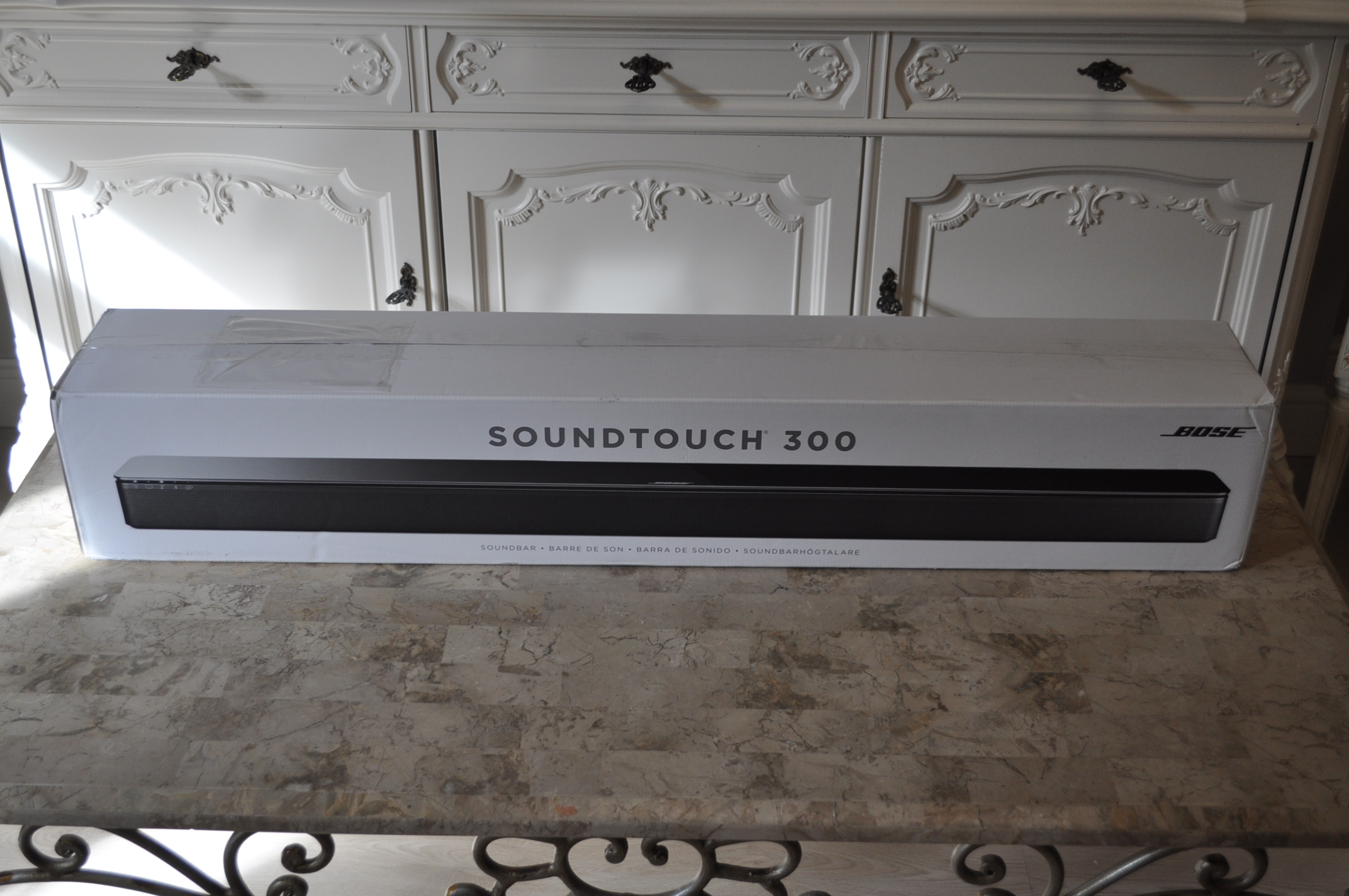 Bose Soundtouch 300 Top Model Nowy 7311137150 Oficjalne Archiwum With Acoustimass Plus Virtually Invisible