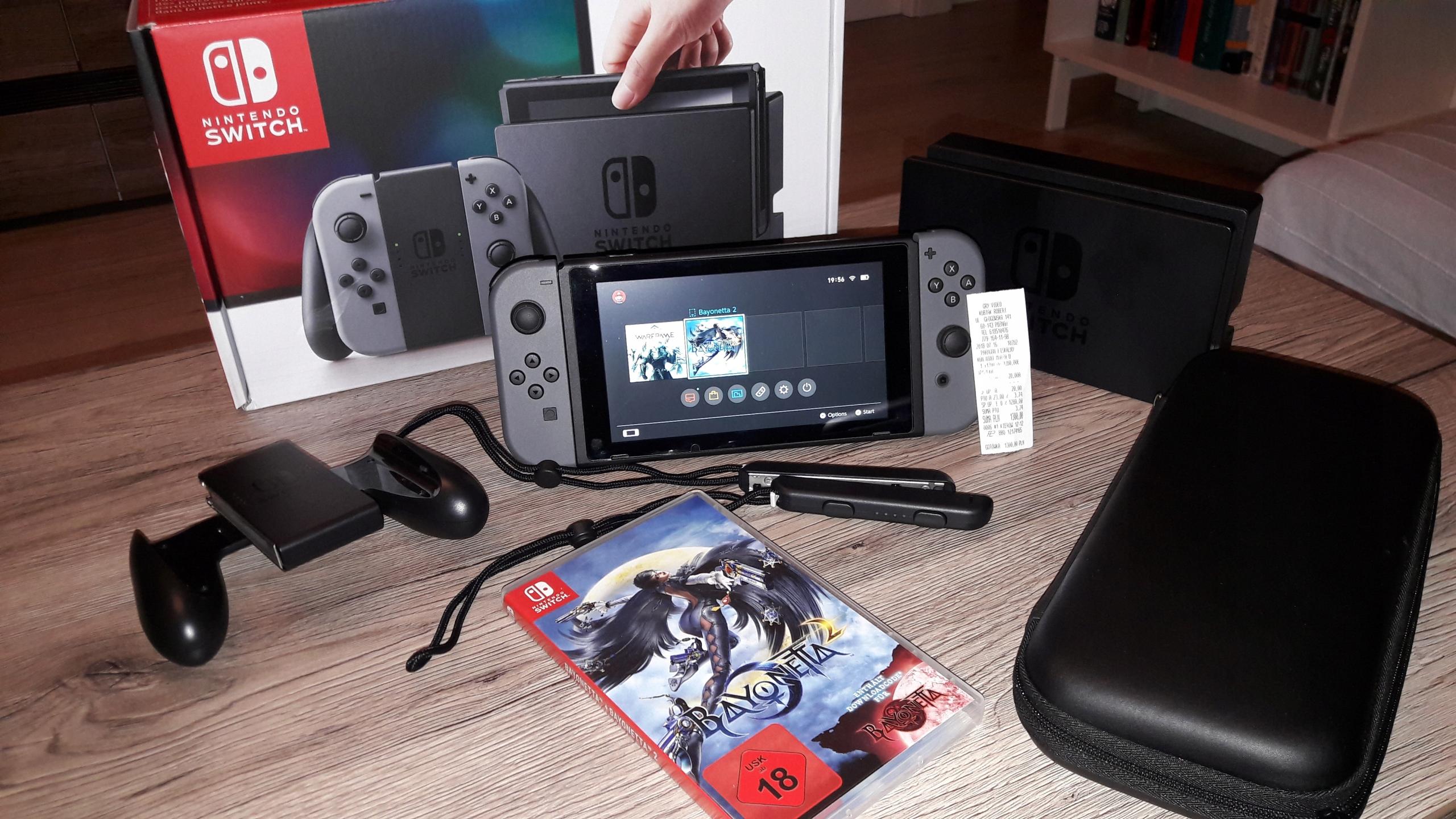 Nintendo Switch Idealny + Bayonetta 2