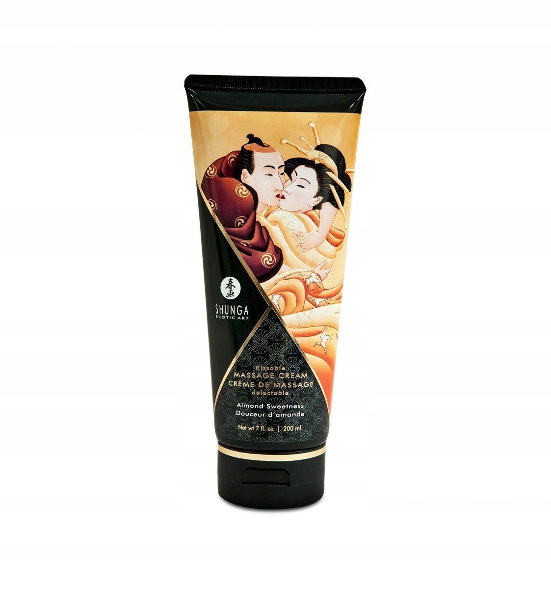 Shunga - Almond Sweetness Kissable Massage Cream 2
