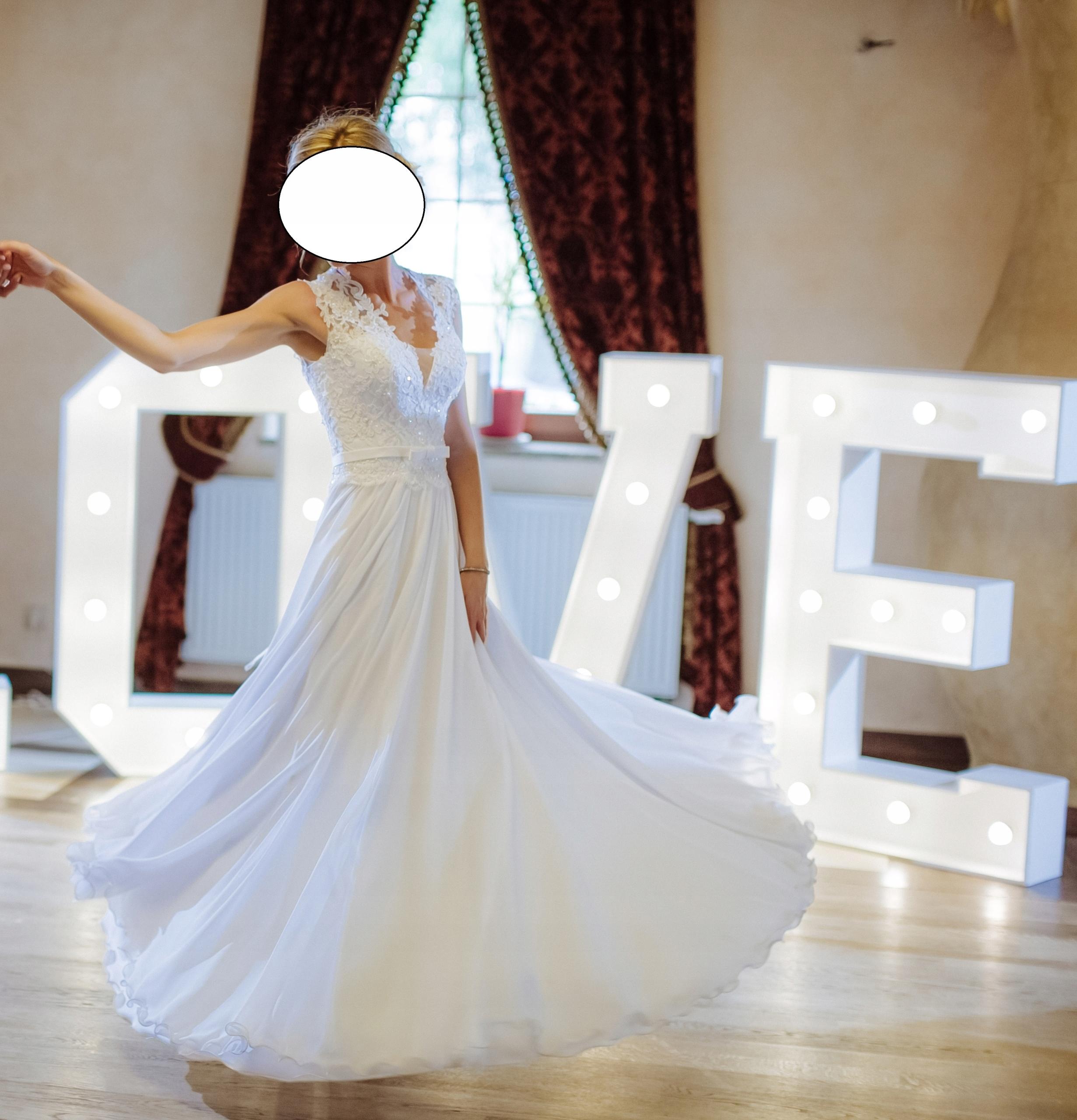 Suknia ślubna Biała 7483522016 Oficjalne Archiwum Allegro