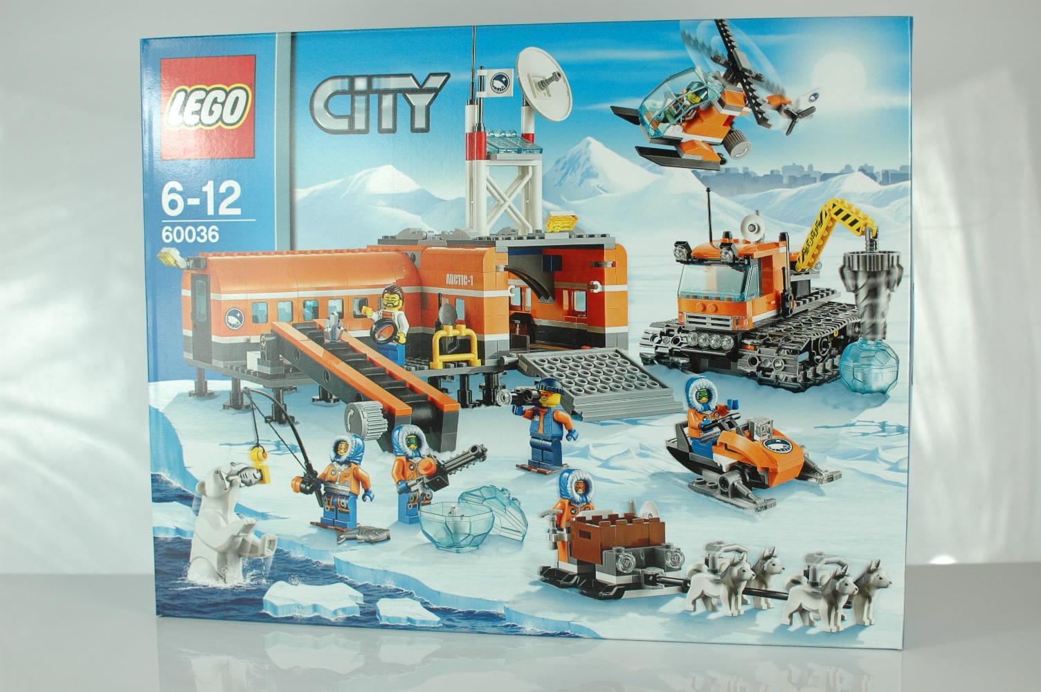 Lego City 60036 Arktyka Arktyczna Baza 7145462673 Oficjalne