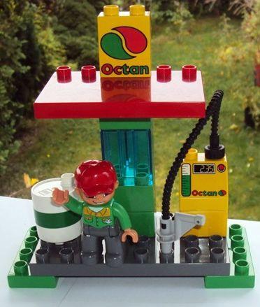 Lego Duplo Stacja Benzynowa Dystrybutor Paliw 7105411279