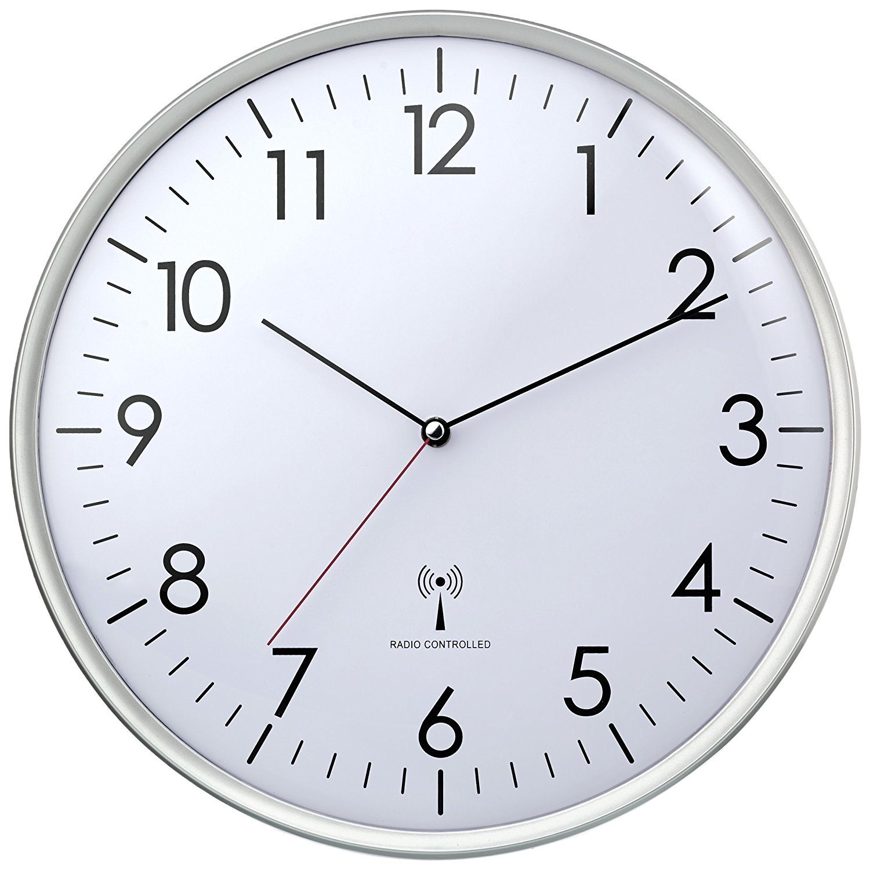 Zegar ścienny Radiowy 33cm Tfa Dostmann D8b027