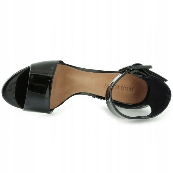 4e9134616d1dc 75% czarne buty lakierowane SANDAŁY GINO ROSSI 40 - 7523358363 ...