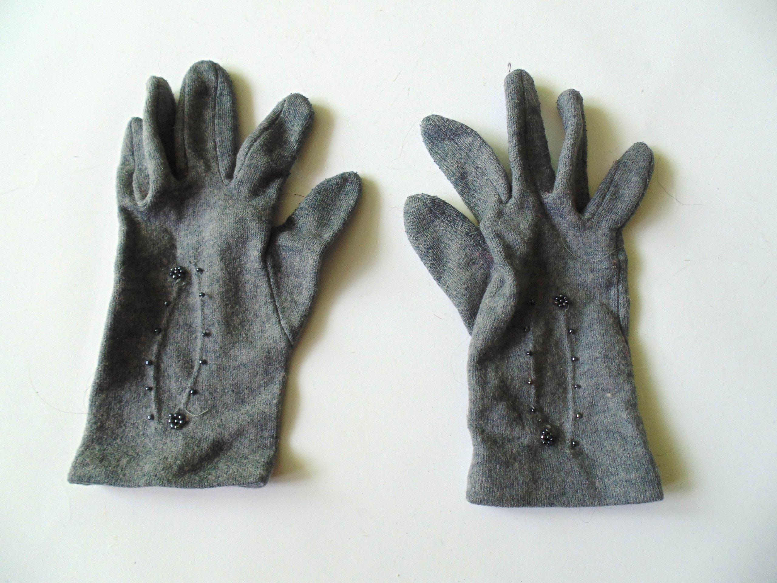 Modne rękawiczki rozmiar S