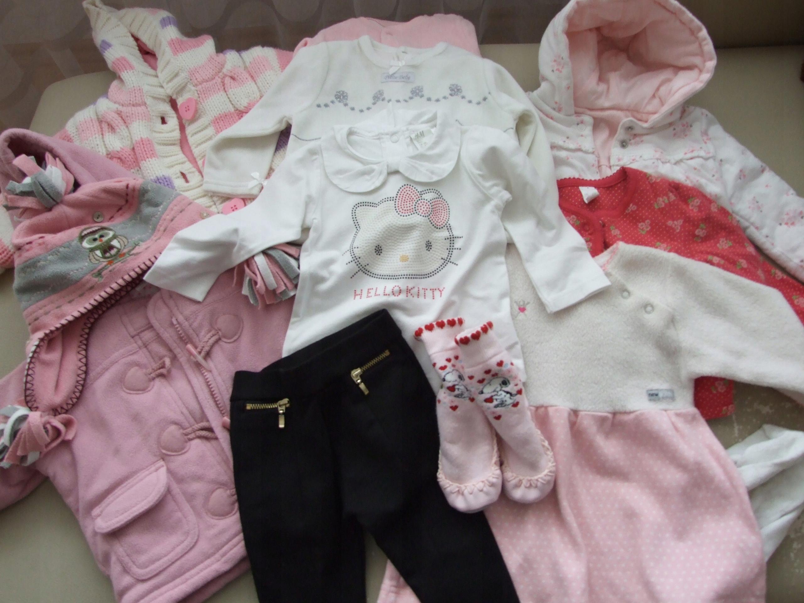 c86043365af167 ubranka ciuszki dla dziewczynki 3-6 mce wyprawka - 7539001042 ...