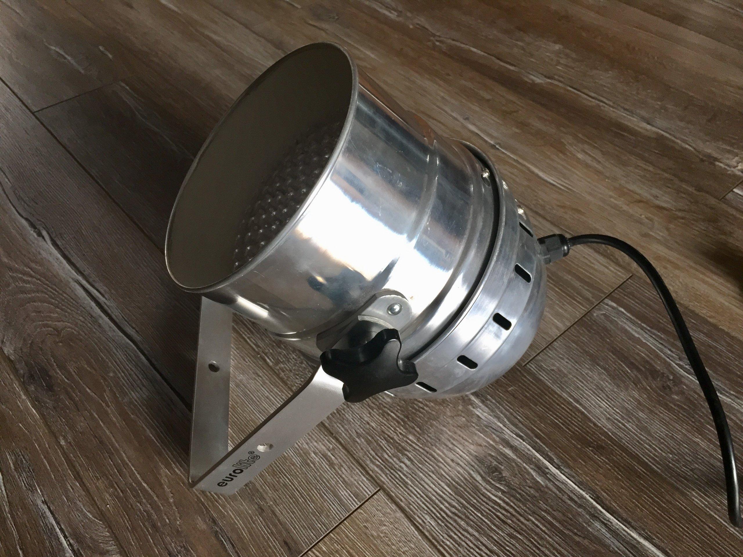 Reflktor Lampa Eurolite par 56 rgb LED Alu Srebrna