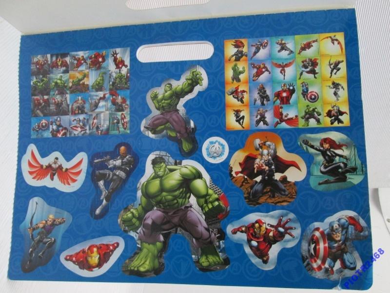 Marvel Avengers Kolorowanka Z Naklejkami 6551 7151325169