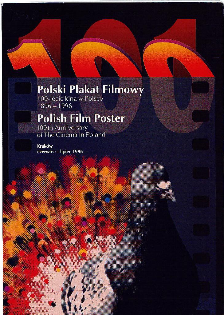 Polski Plakat Filmowy 100 Lecie Kina W Polsce