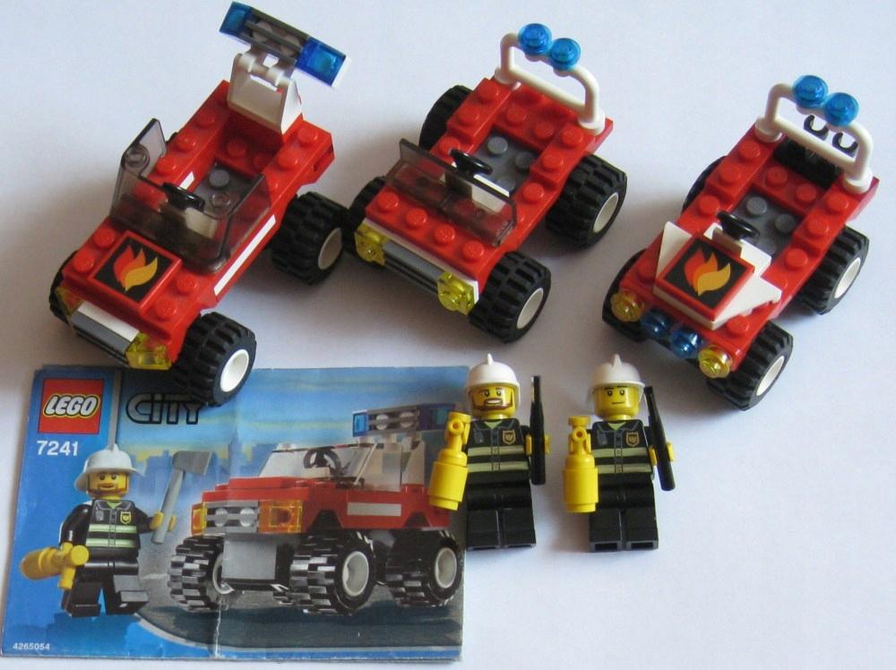 Lego City Wozy Straż Pożarna 4914 4938 7241 7049305423 Oficjalne