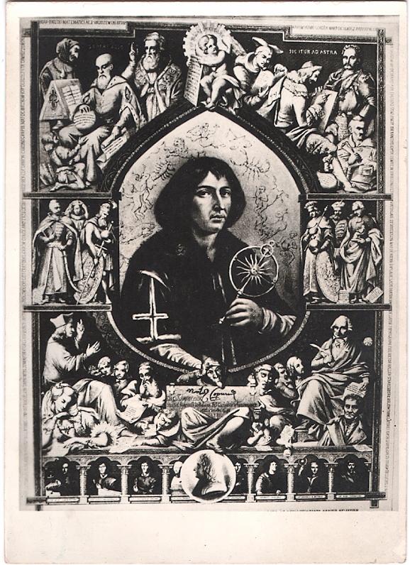 Mikołaj Kopernik Wizerunek Obraz W Rzymie 7459059206