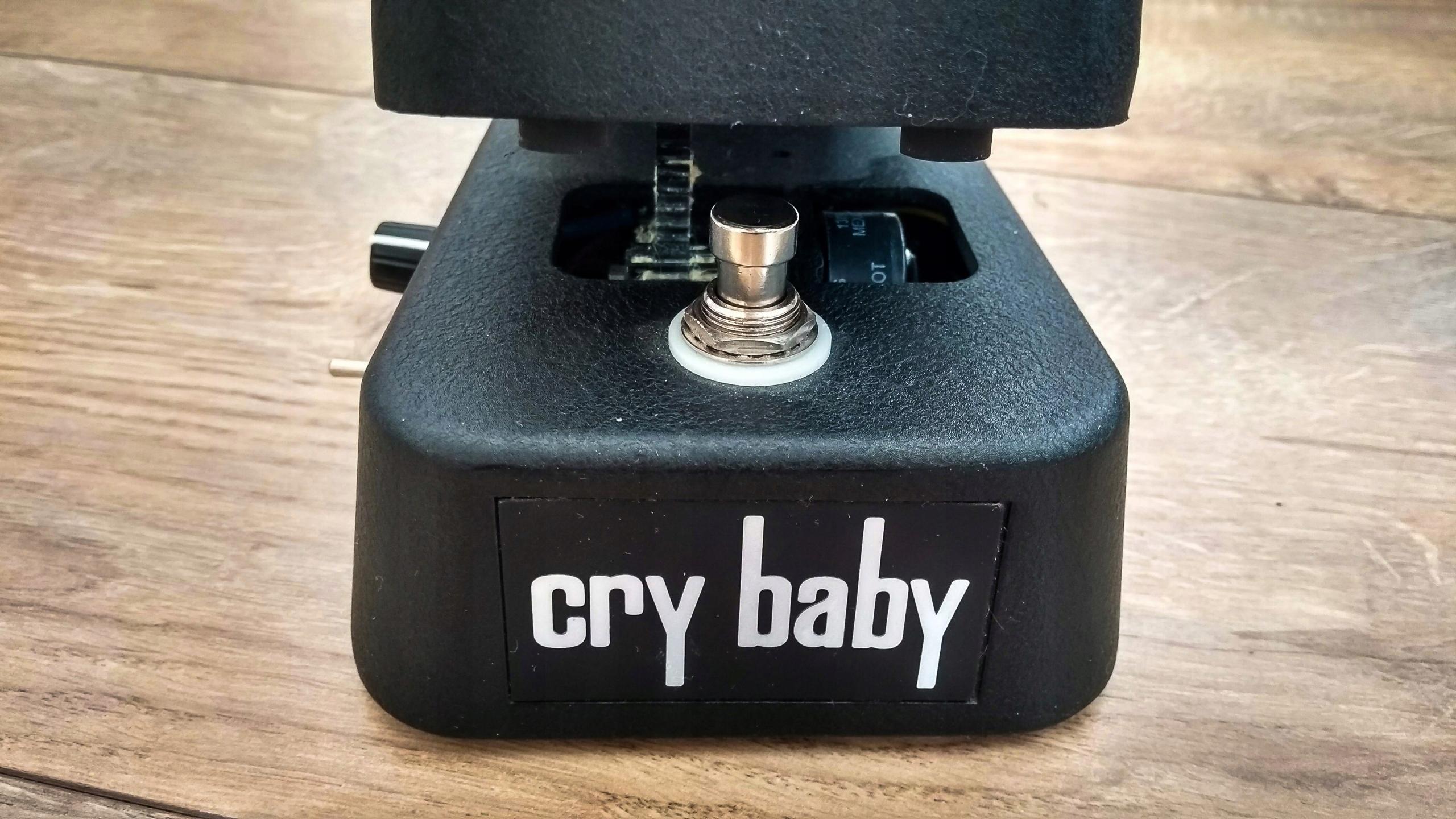 Dunlop CryBaby GCB95   Mod Q pot, True Bypass, LED