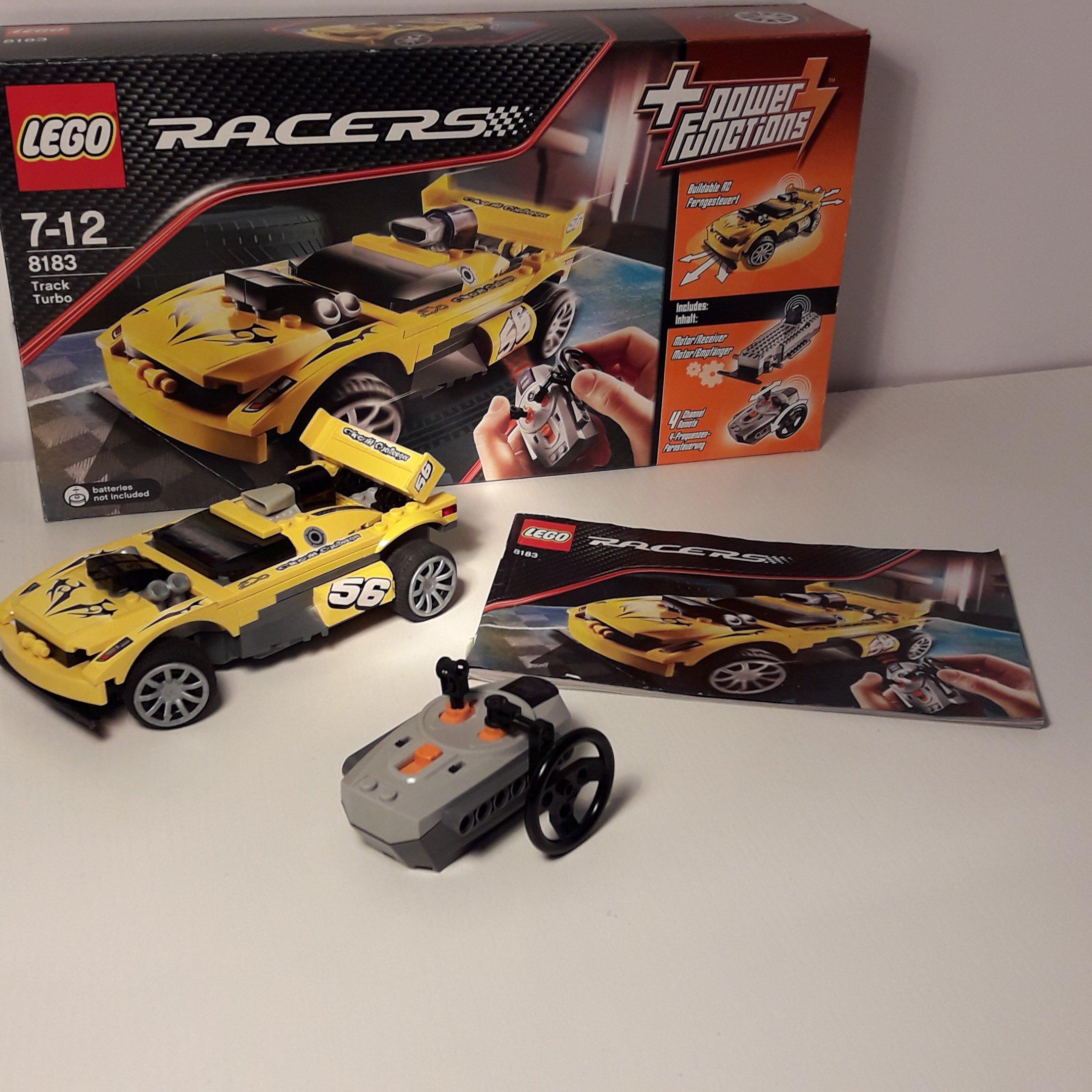 Lego Racers 8183 Samochód Zdalnie Sterowany 2w1 7087808659