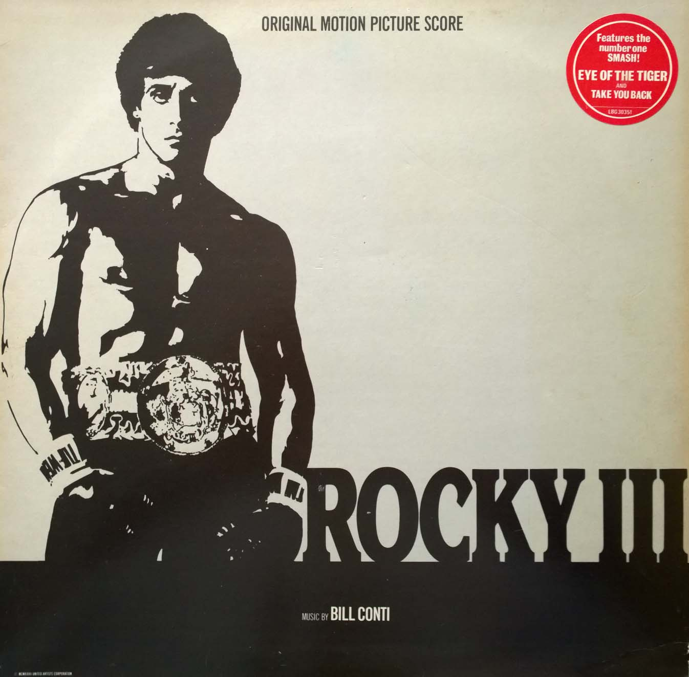 Rocky III - SOUNDTRACK   LP (VG)