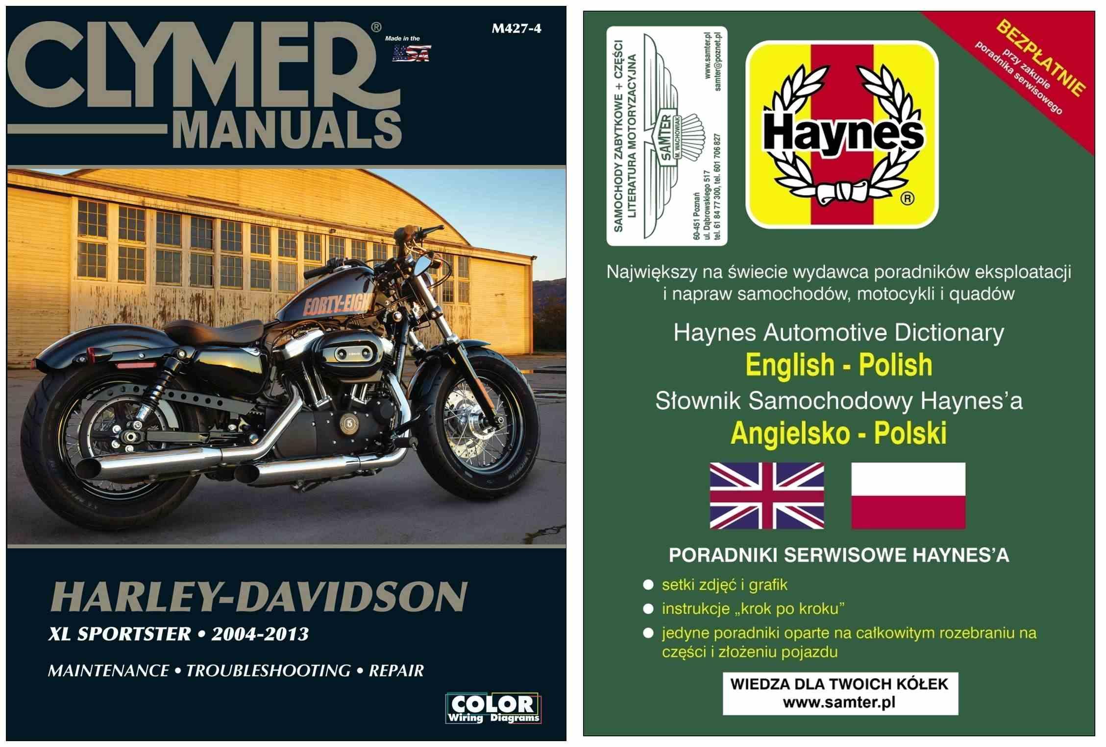 HARLEY-DAVIDSON Sportster 883 1200 2004-13 Clymer