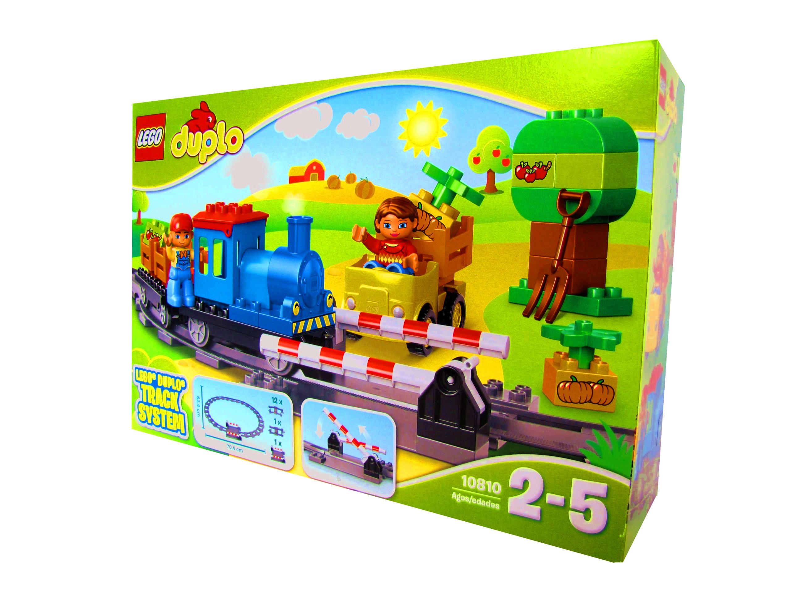 Klocki Lego Duplo Pociąg Ciuchcia Tory 2 Figurki 7048750486