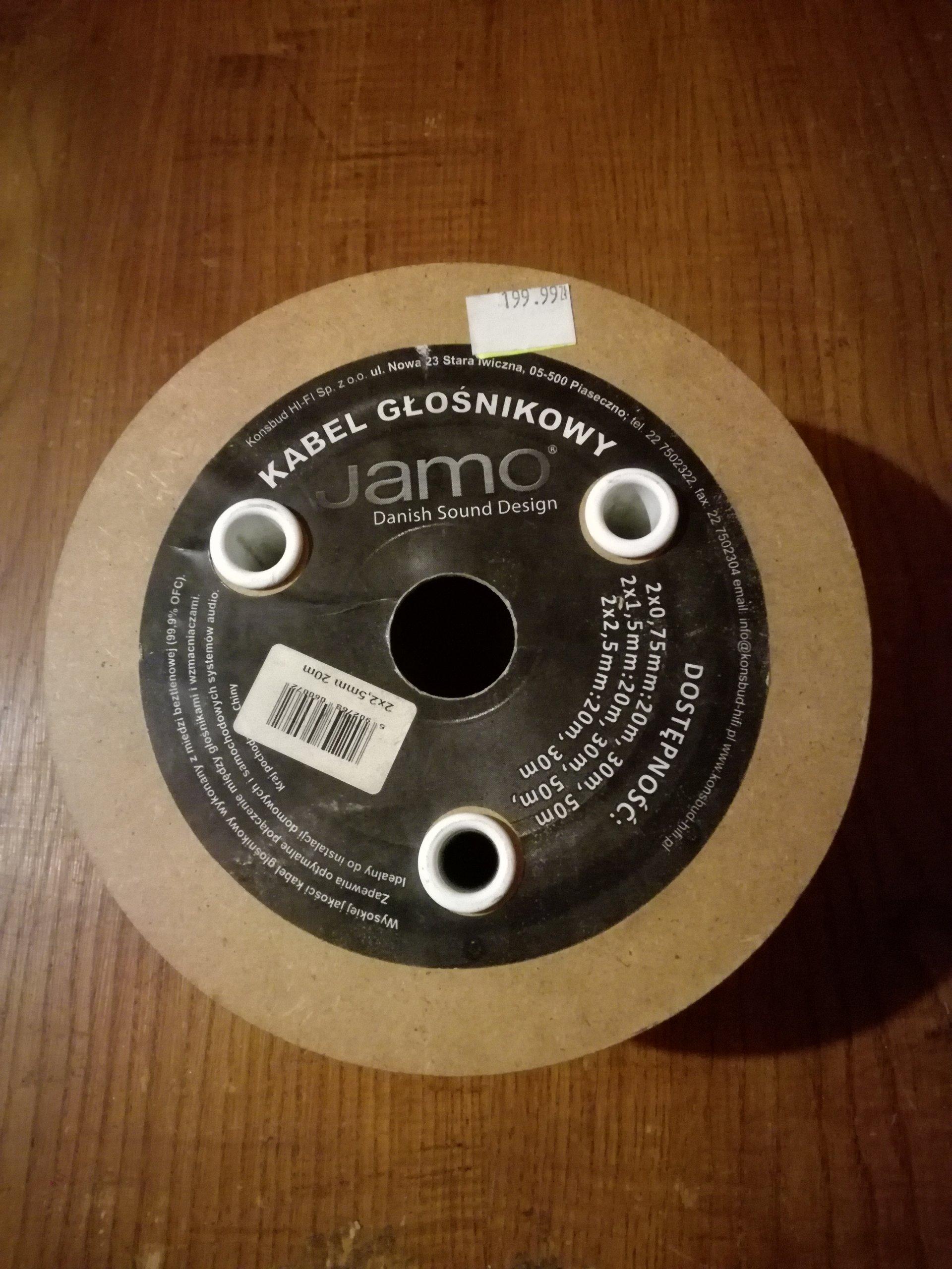 Kabel głośnikowy Jamo