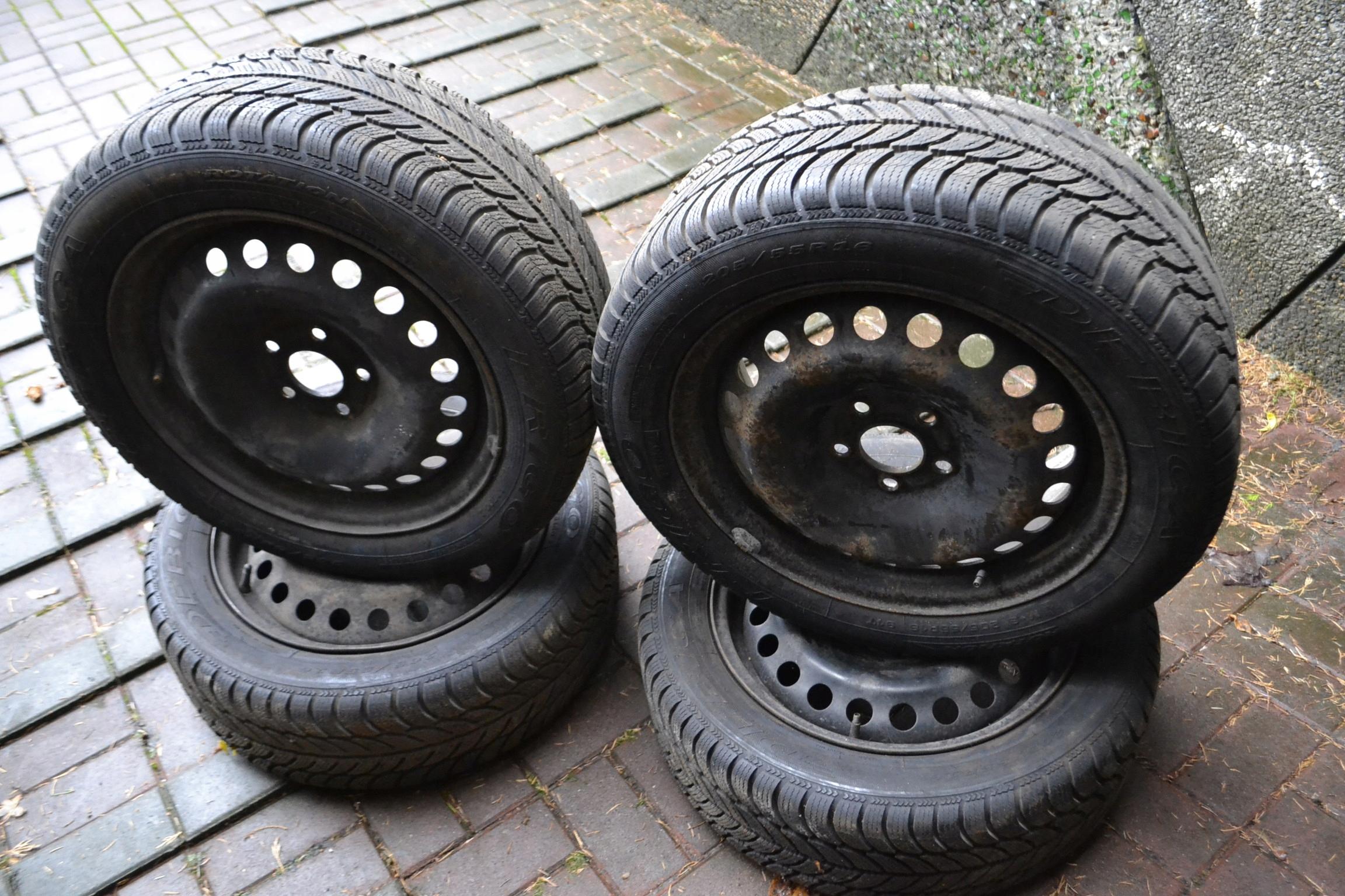 Felgi Opony Zimowe Ford Mondeo Mk3 20555 R16 7652672453