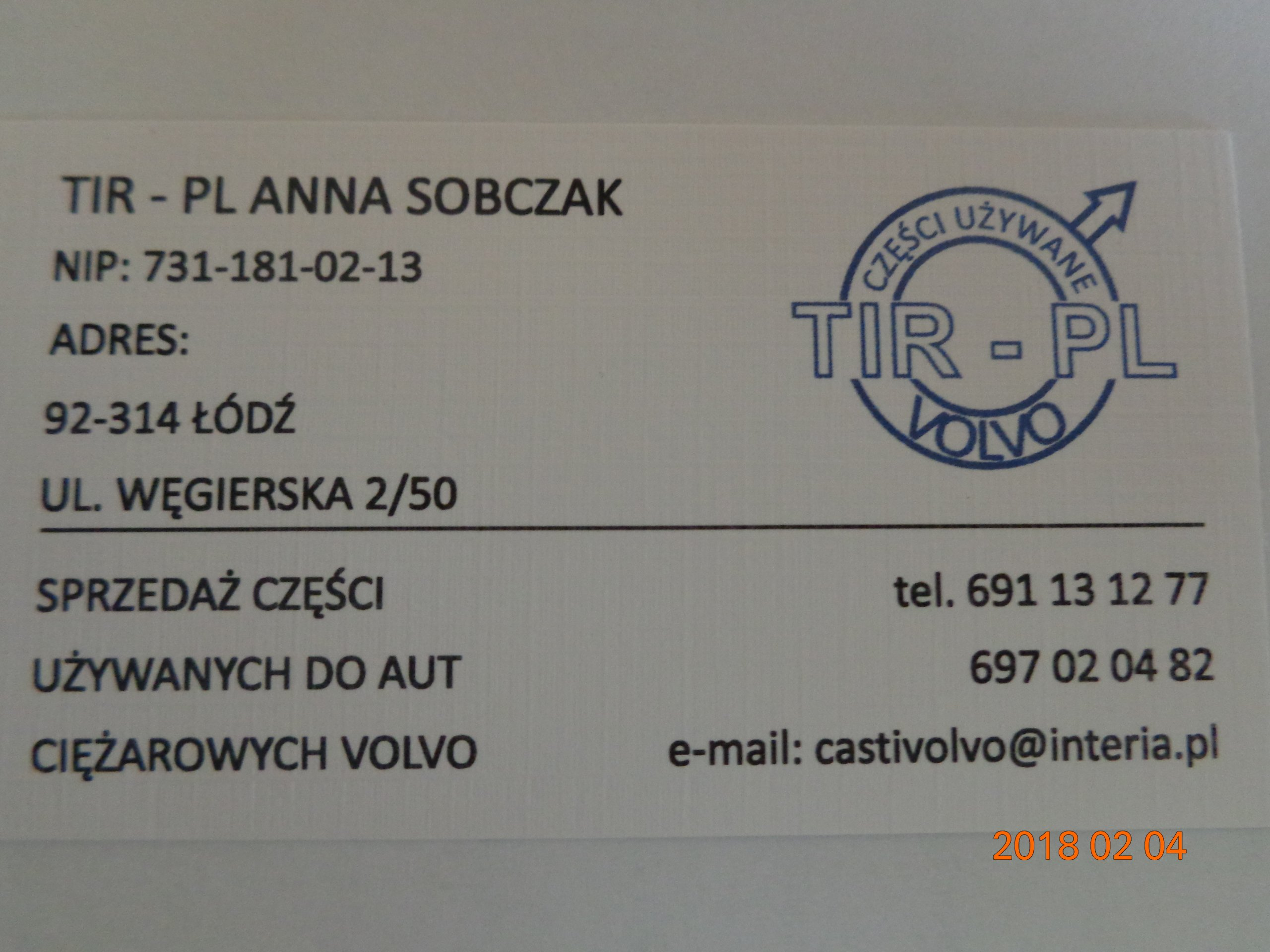 Zasłony Zasłonki Firany Firanki Volvo Fh12 7715332118