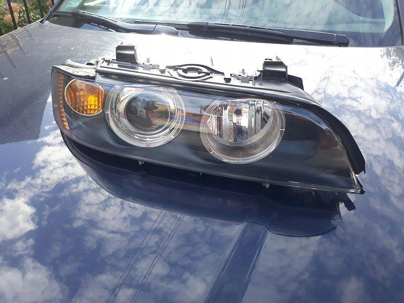 Lampa Prawa Xenon Bmw E39 Po Lift Hella Ringi Ksen 7630812028