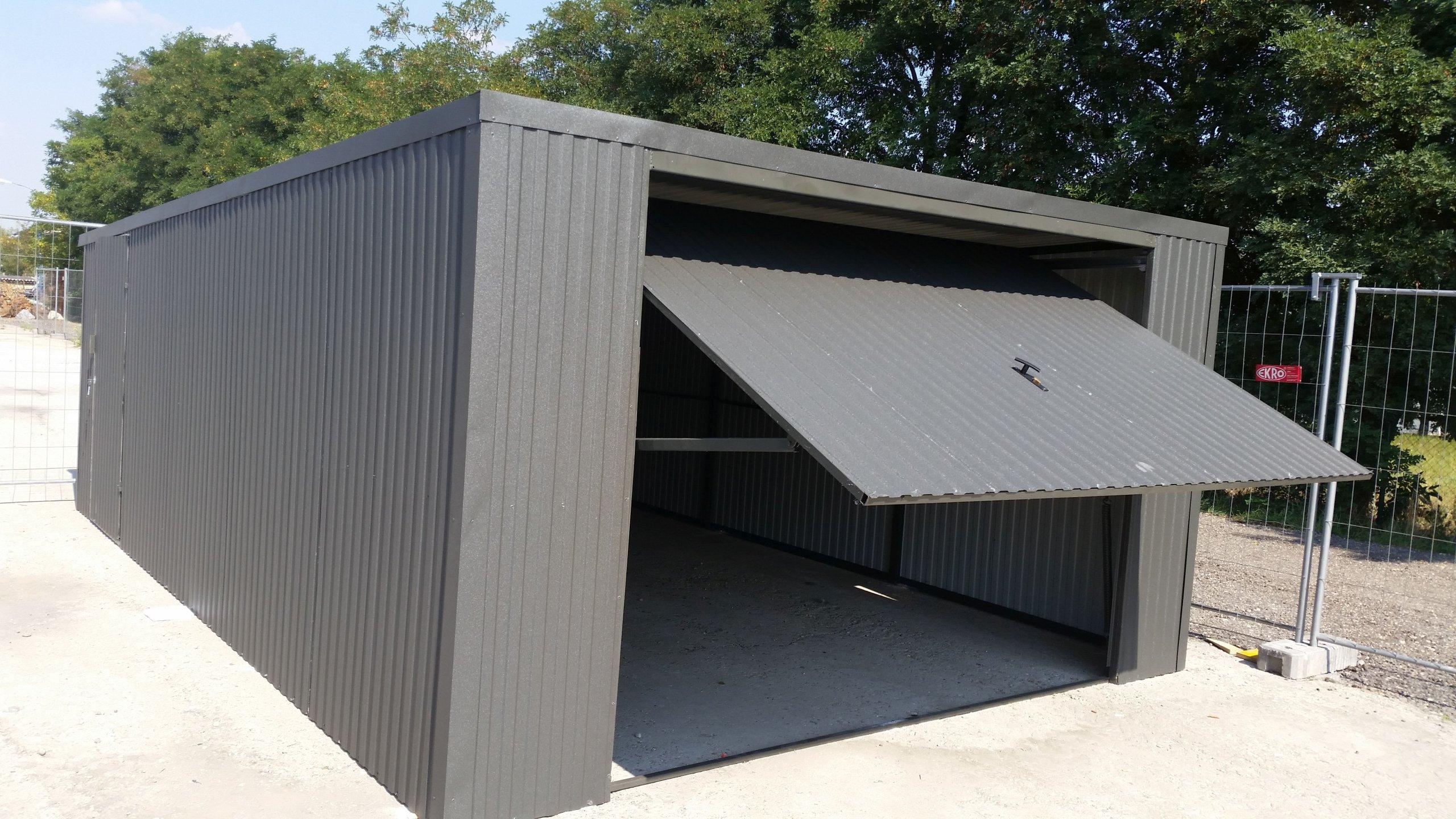 Całoroczny Garaż Blaszany Wiata Blaszak 5x6 6855988091