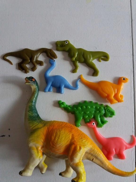 figurki dinozaury zestaw żelowe