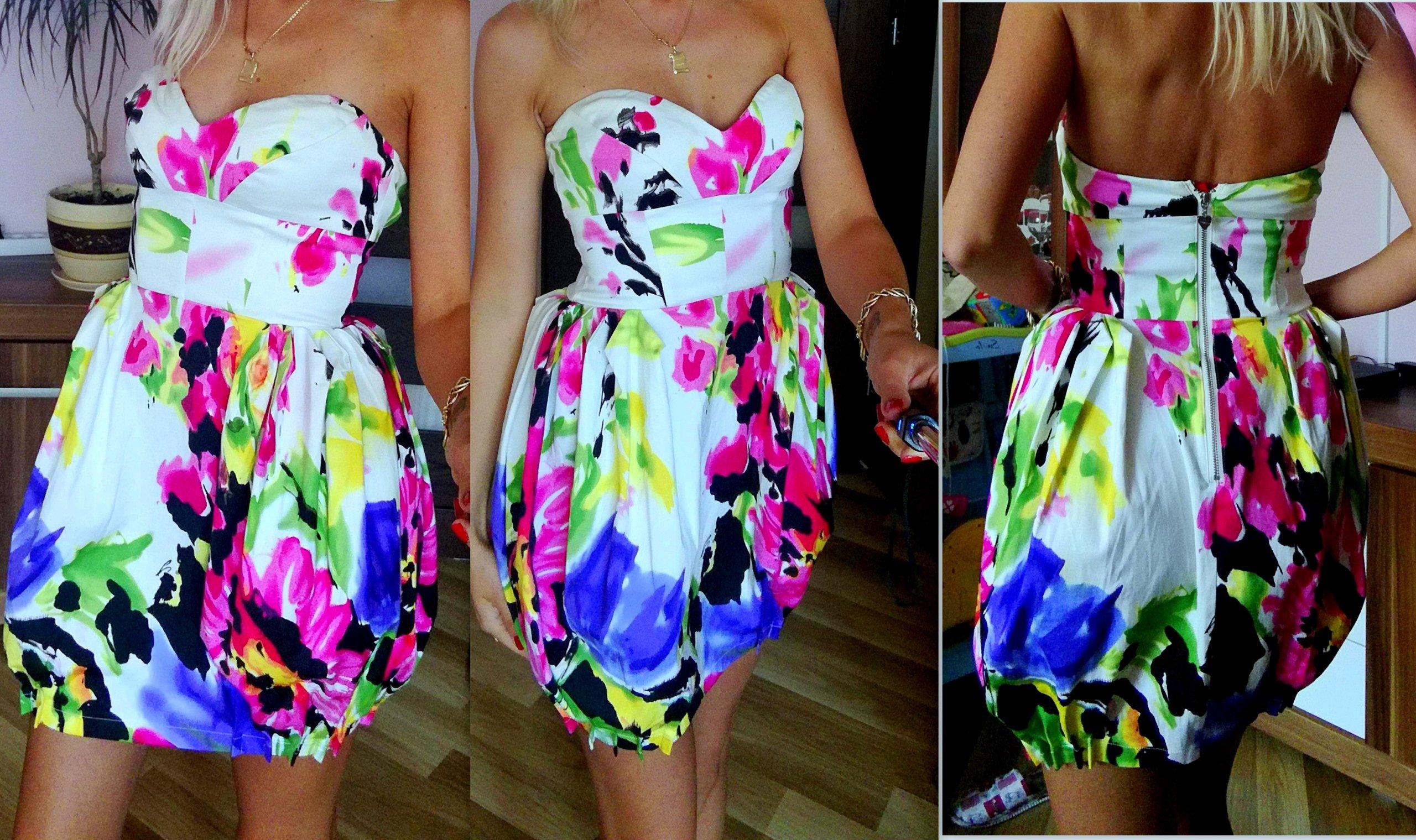2abfb46969 Lipsy london śliczna sukienka bombka r 36 - 7356374497 - oficjalne ...