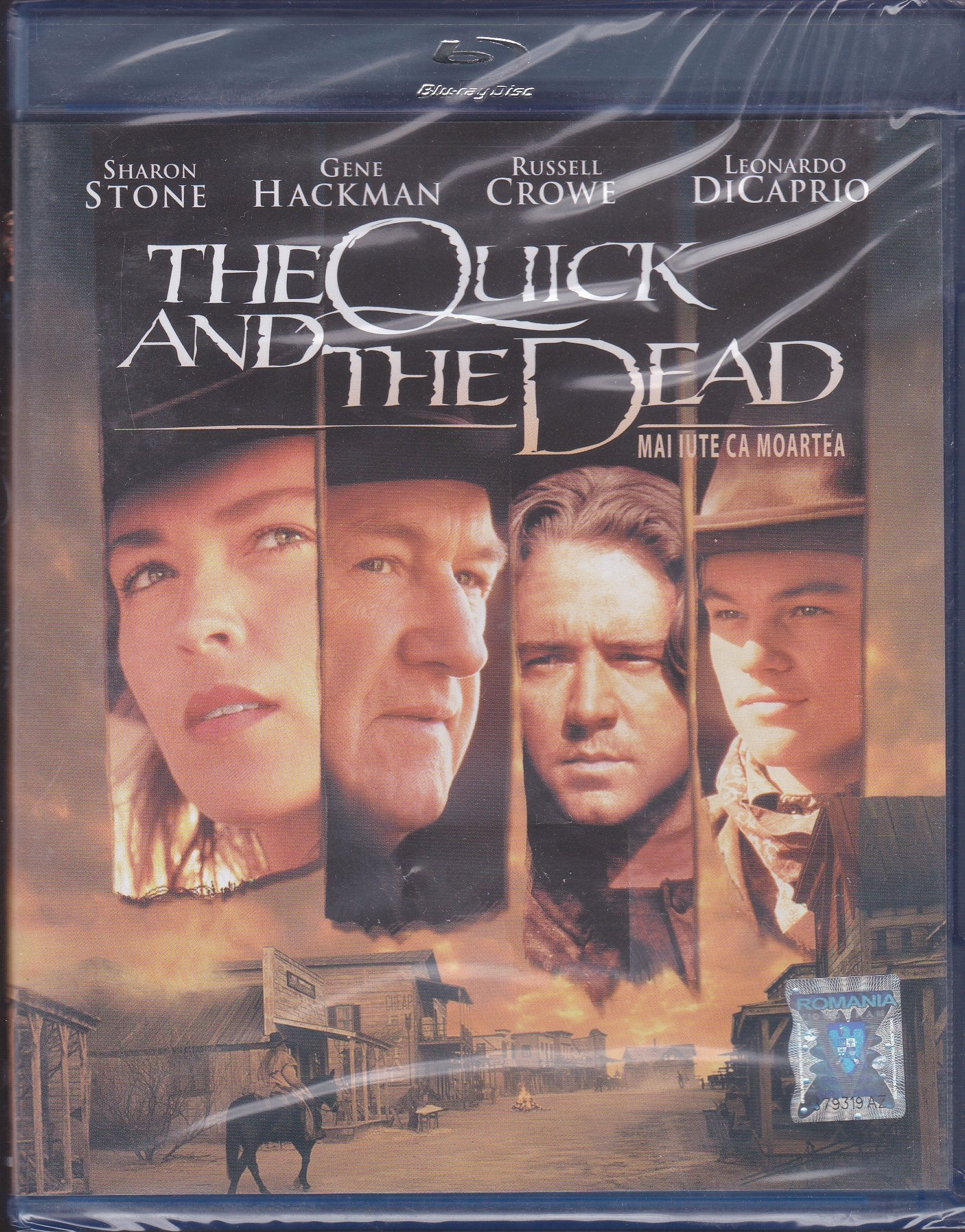 The Quick and the Dead BLU-RAY POLSKY LEKTOR