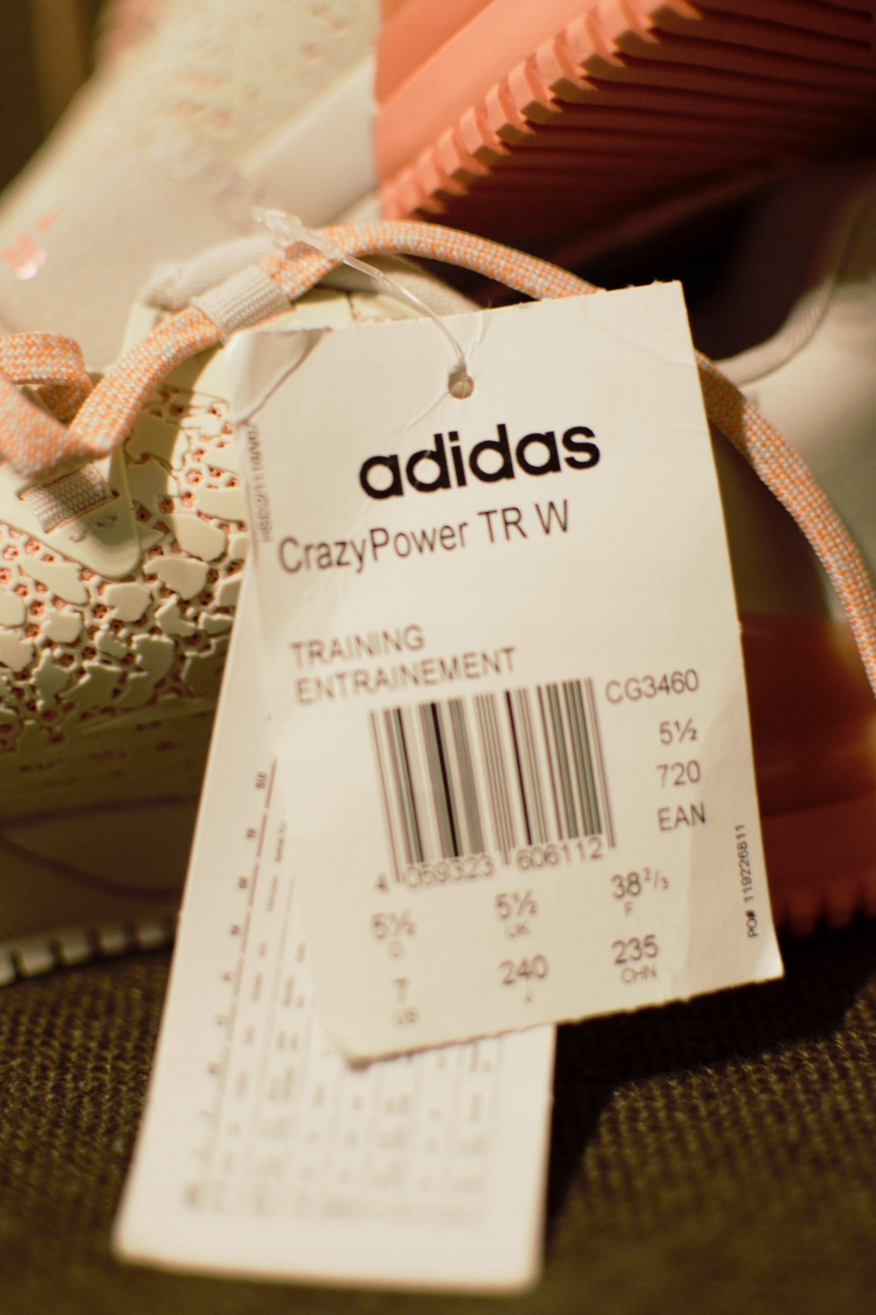 hot sale online 54565 8e097 ADIDAS PERFORMANCE - BUTY CRAZY POWER TR