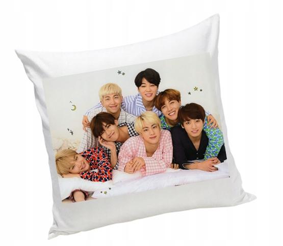 BTS WINNER k-pop poduszka jasiek