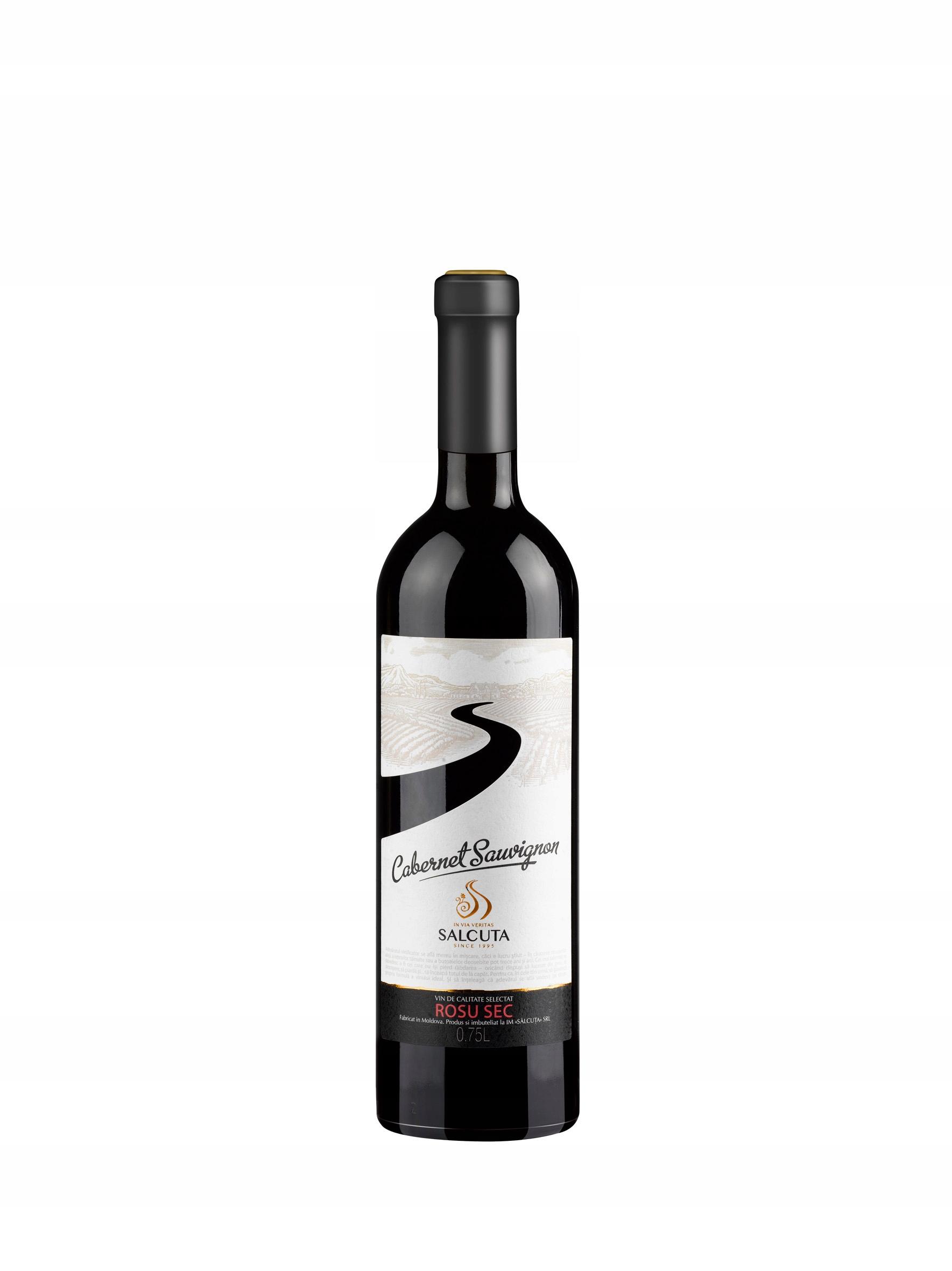 Wino Czerwone Mołdawia CABERNET SOUVIGNON wytrawne