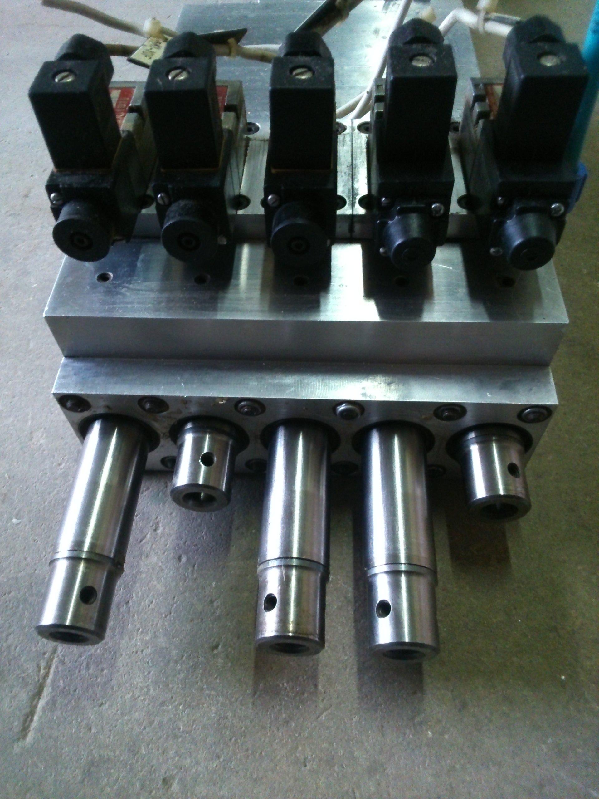Wspaniały Głowica wiertarska wielowrzecionowa CNC z silnikie - 7351502256 BU46