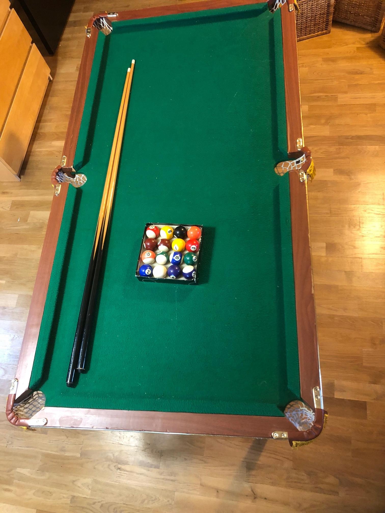 Duży Stół Bilardowy Dla Dzieci Komplet 7484188410