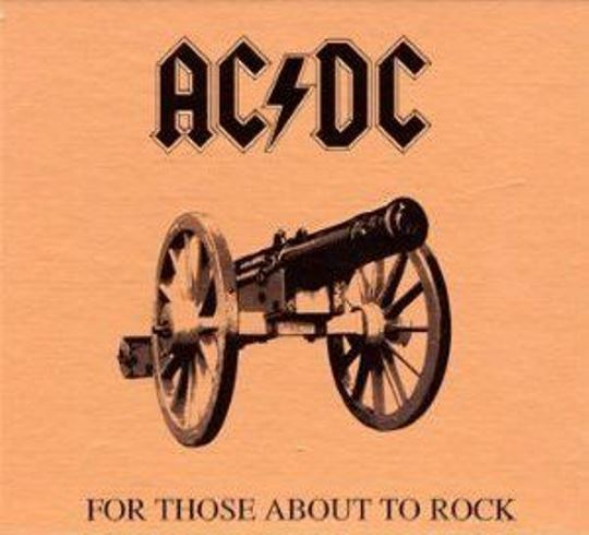 AC/DC - FOR THOSE ABOUT TO ROCK (DIGIPACK)