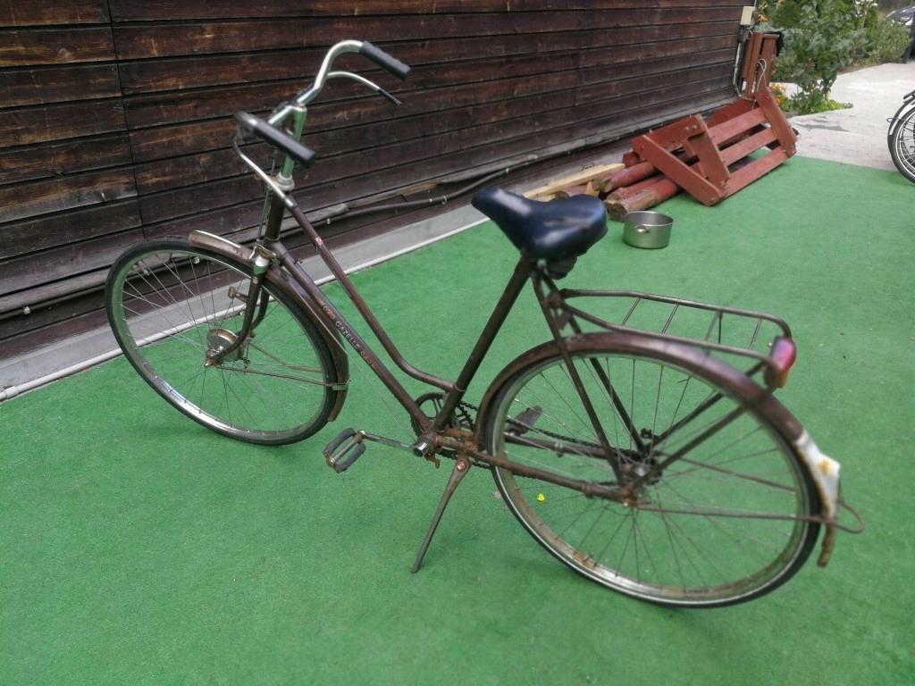 Zabytkowy rower GAZELLE holenderski do renowacji