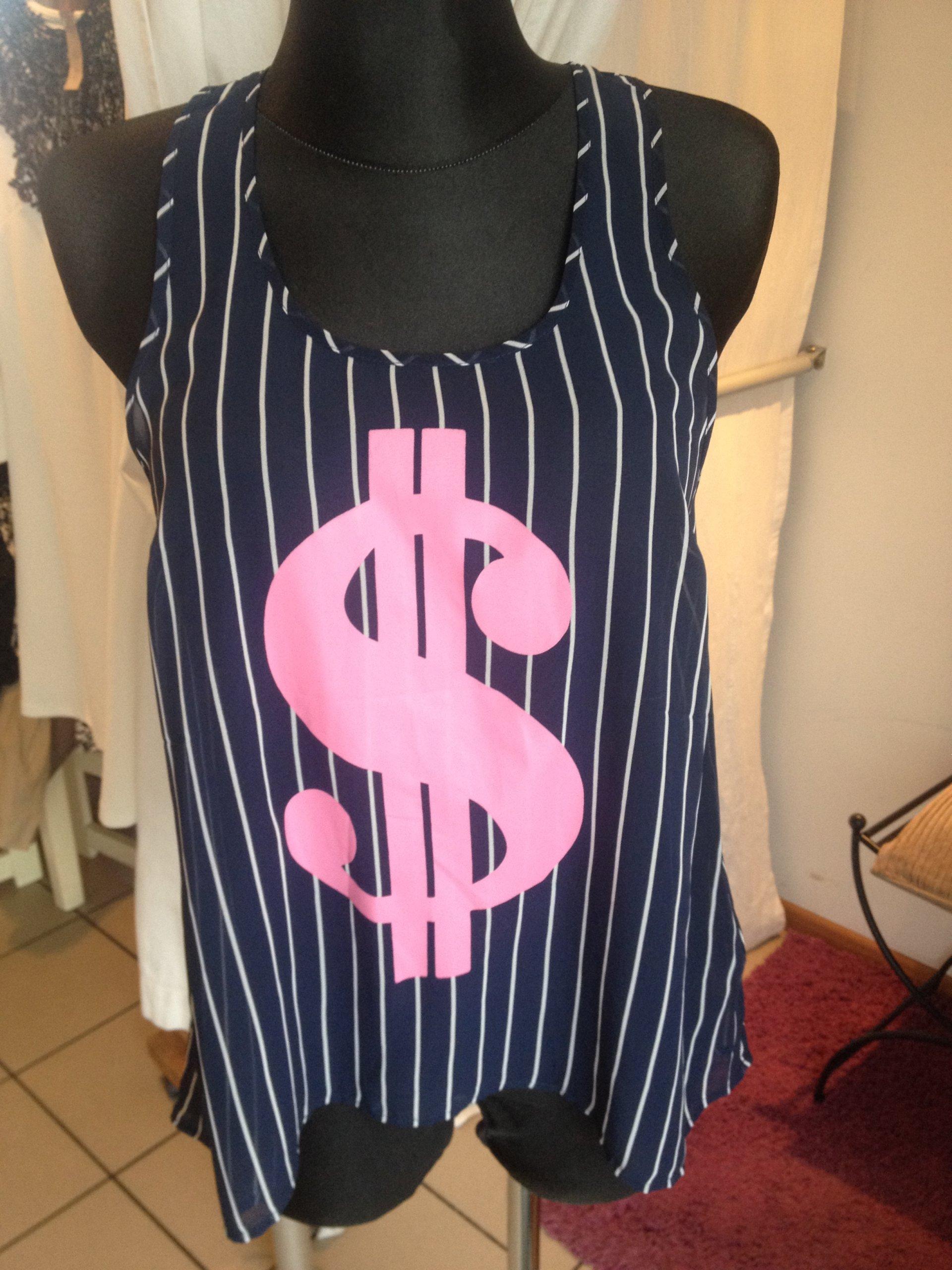 Bluzka hiszpanka luźna retro vintage prążkowana S M L XL XXL