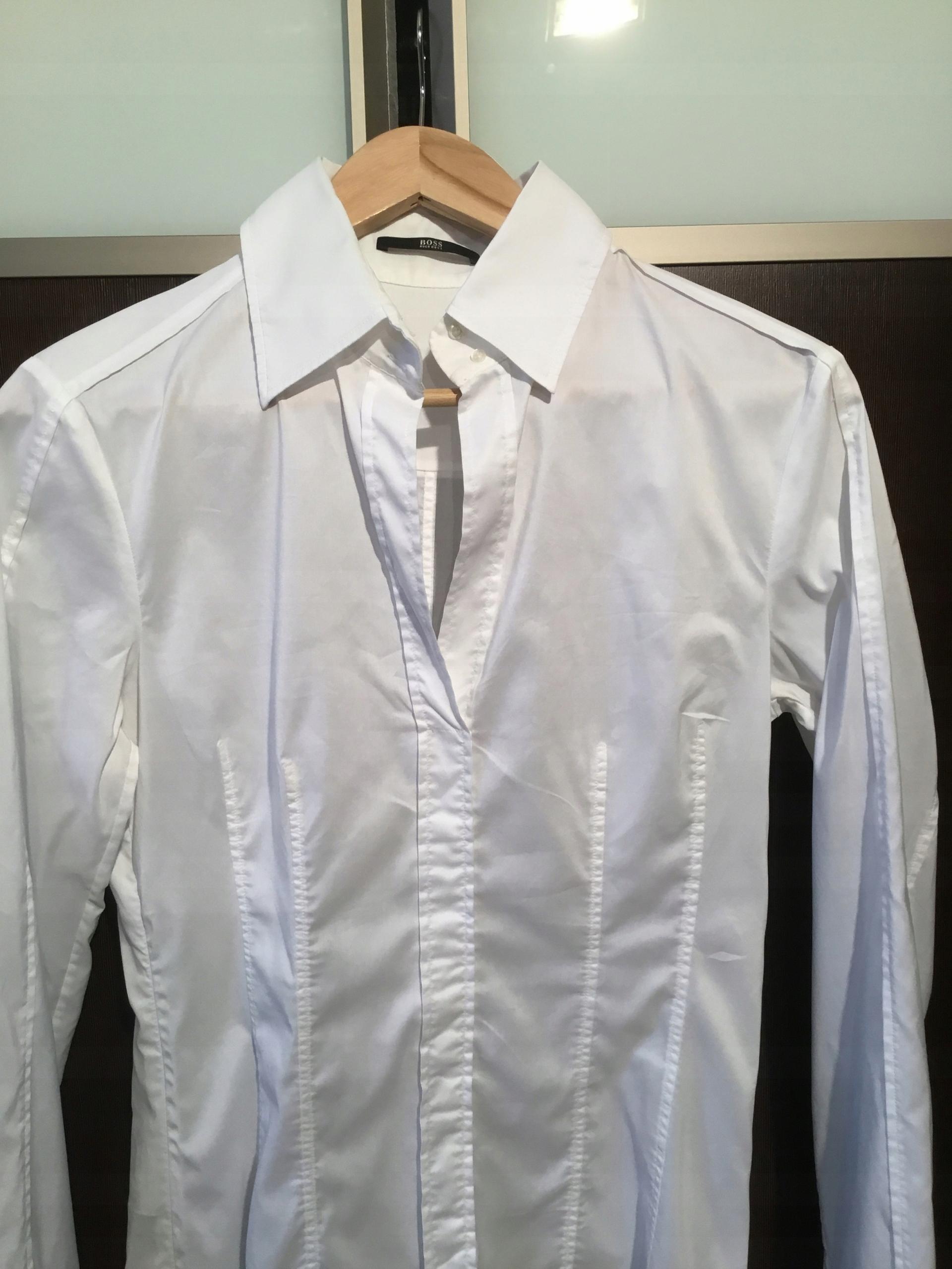 a1db5e41c5040 Koszula Hugo Boss roz 38 biała - 7531836060 - oficjalne archiwum allegro