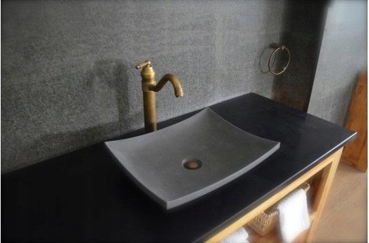 Blat łazienka Granit Kamień Czarny Extra 6773585995